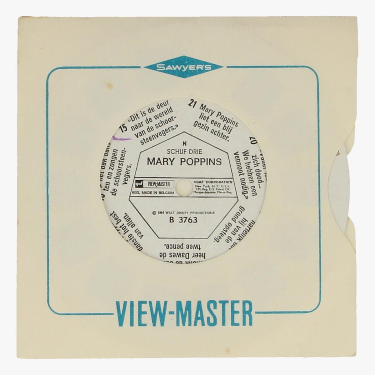 Afbeeldingen van View-master Mary Poppins B 3763