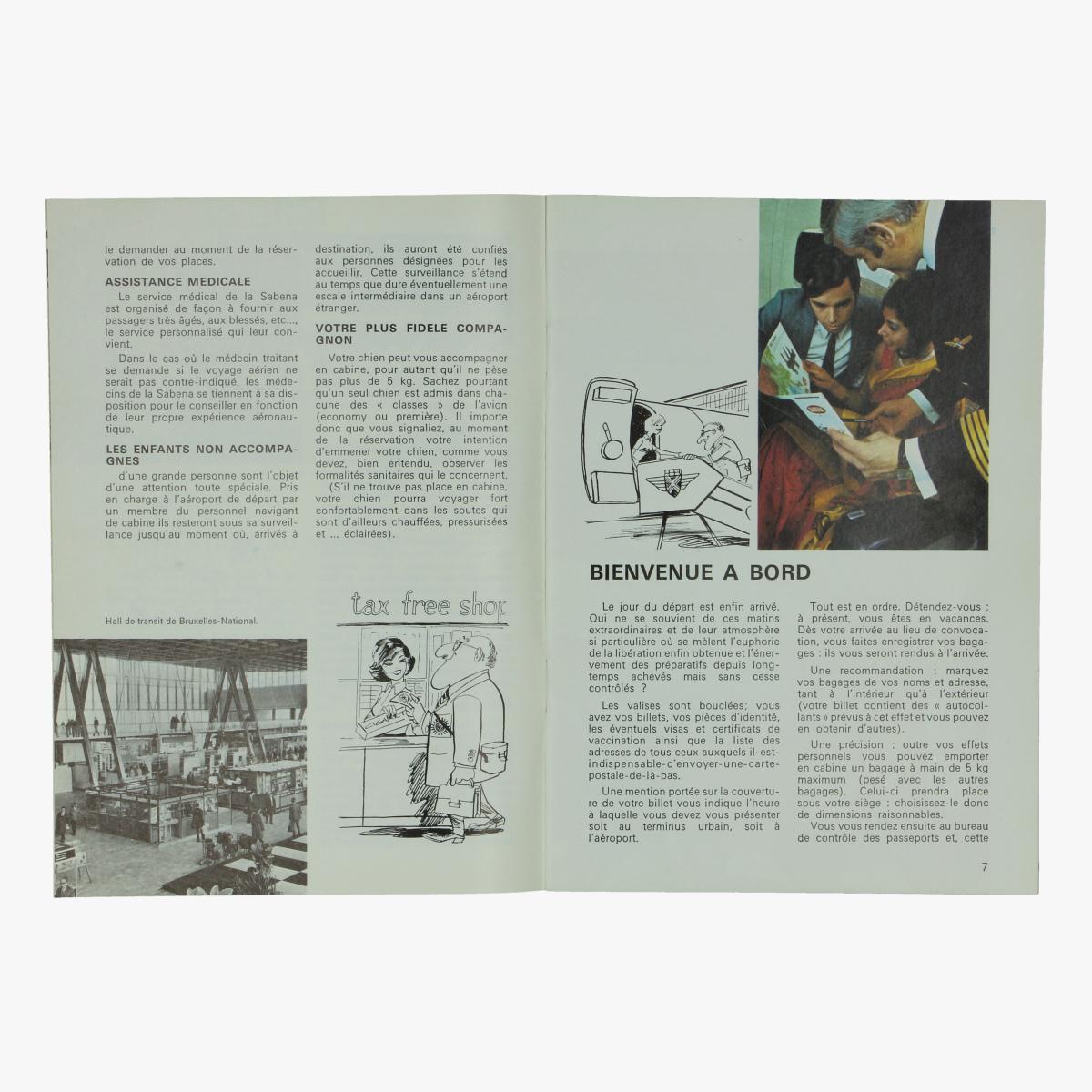 Afbeeldingen van sabena magazine 1971  n°106