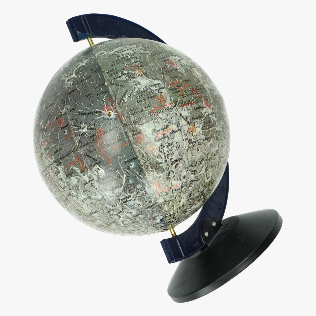 Afbeeldingen van Apollo Maan bol - Moon Flights Globe