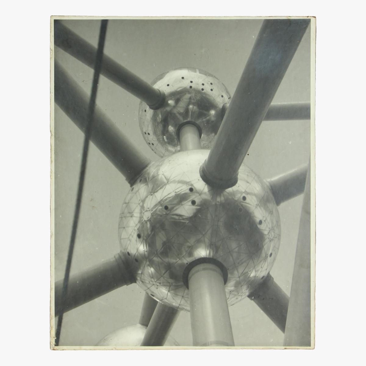 Afbeeldingen van Atomium foto op hout