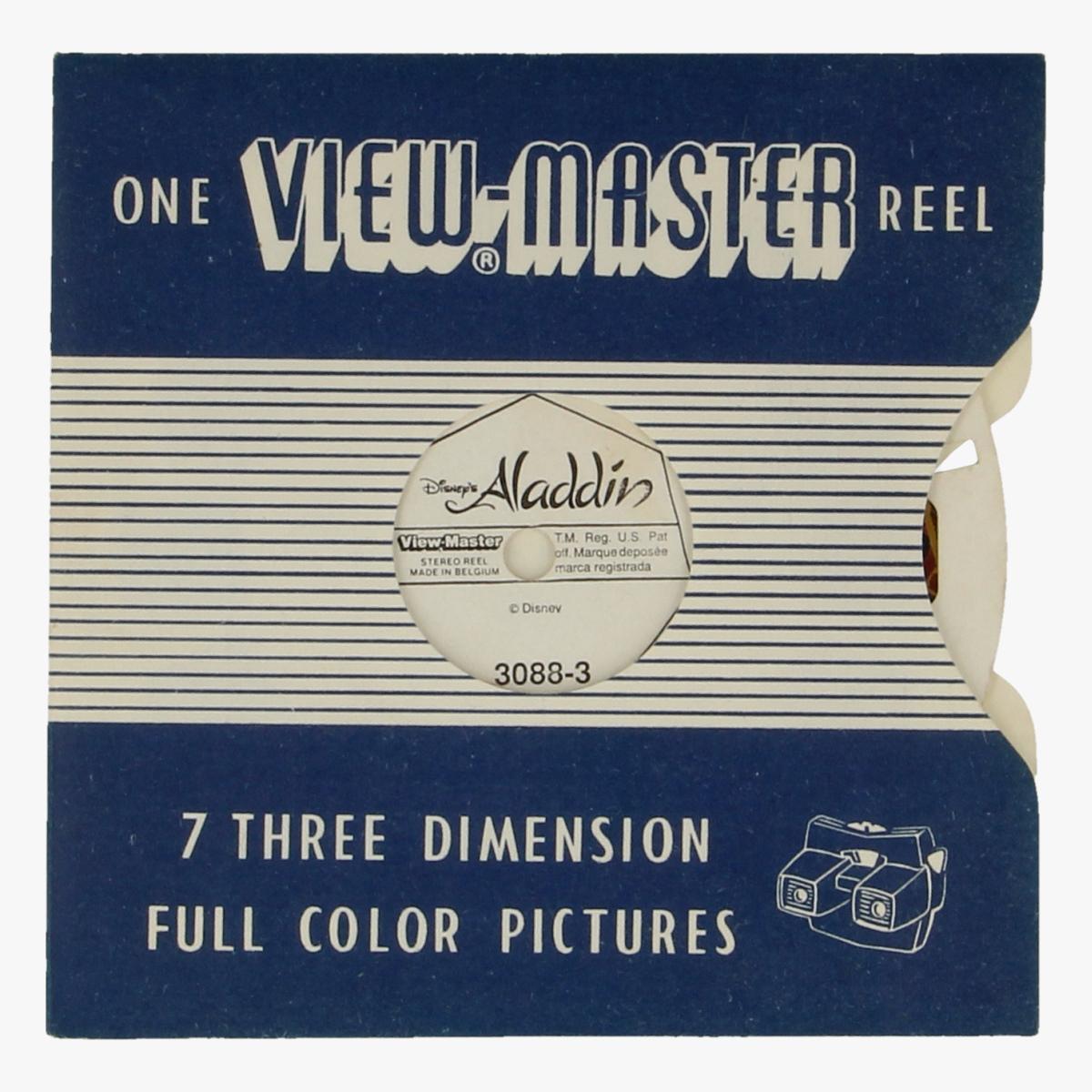 Afbeeldingen van View-Master Aladdin. Nr. 3088-3