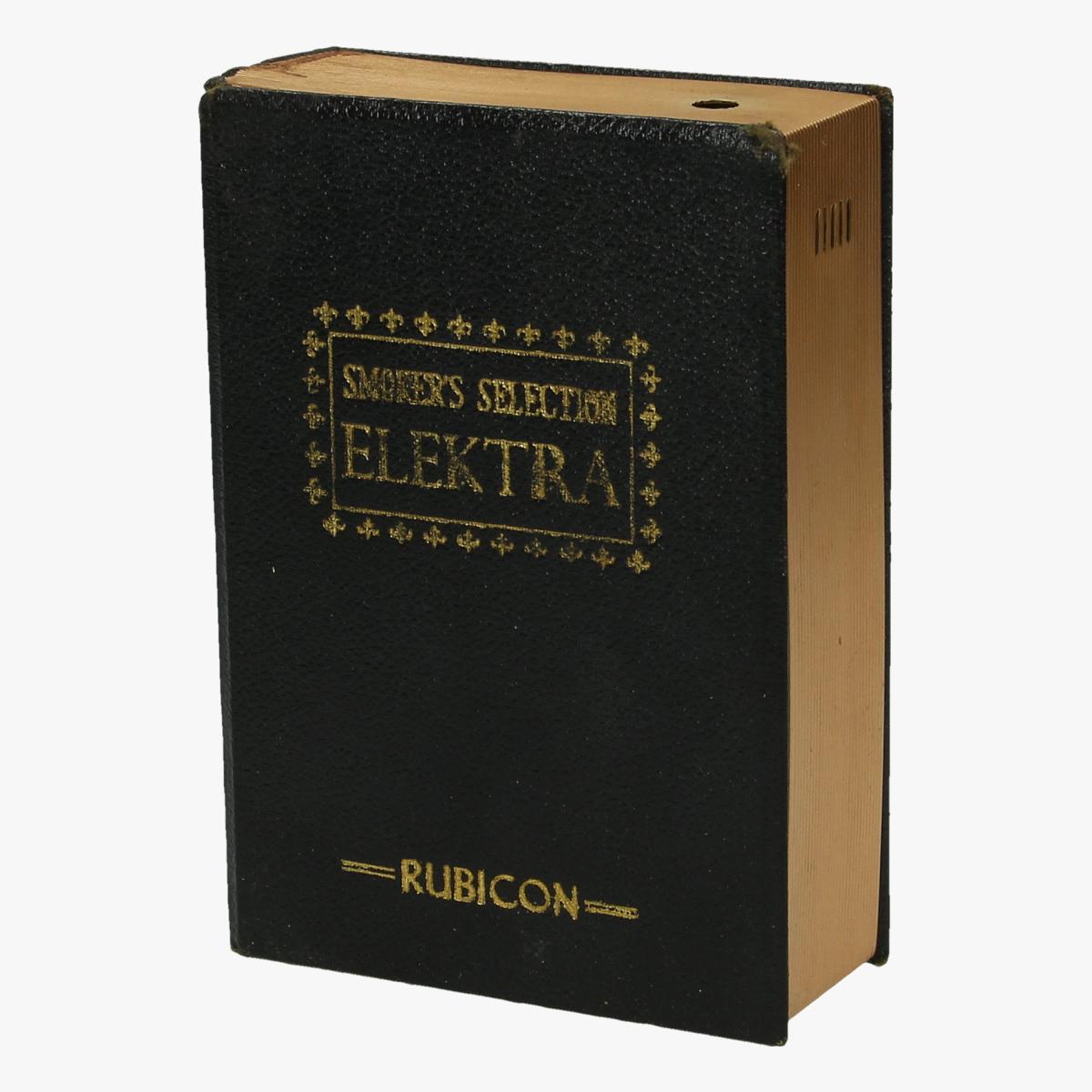 Afbeeldingen van aansteker boek smoker's selection elektra rubicon