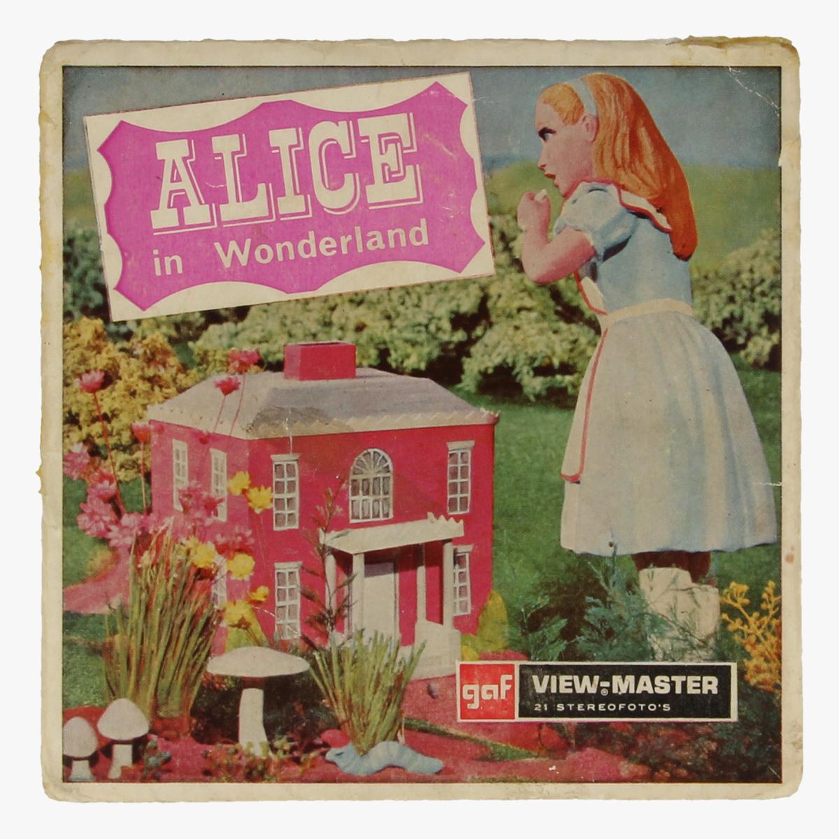 Afbeeldingen van View-master Alice in wonderland