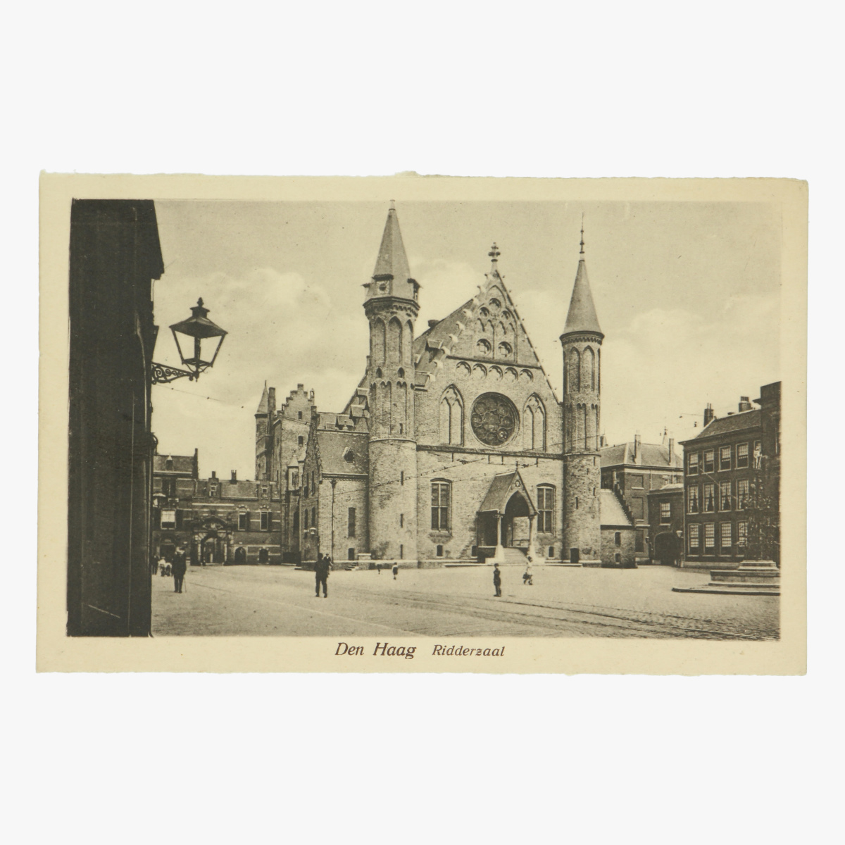 Afbeeldingen van Den Haag - Ridderzaal Postkaart uitgeverij Artur Klitzsch
