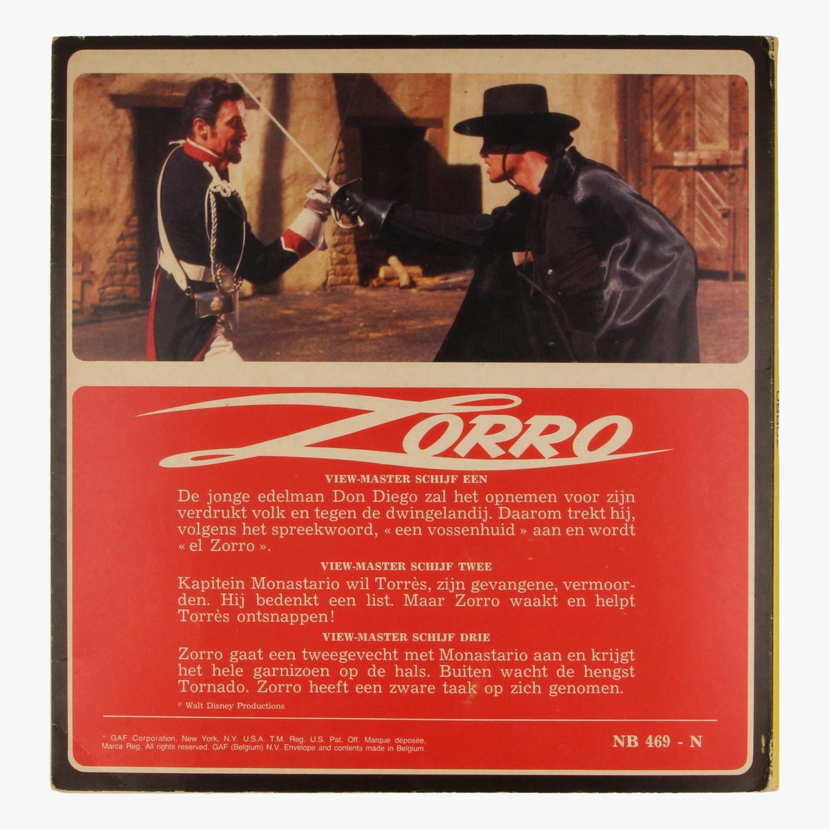 Afbeeldingen van View-master Zorro B4691,B4692,B4693