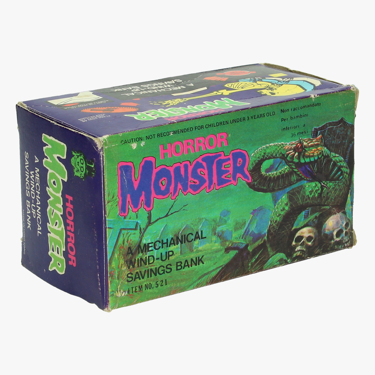 Afbeeldingen van spaarpot horror monster