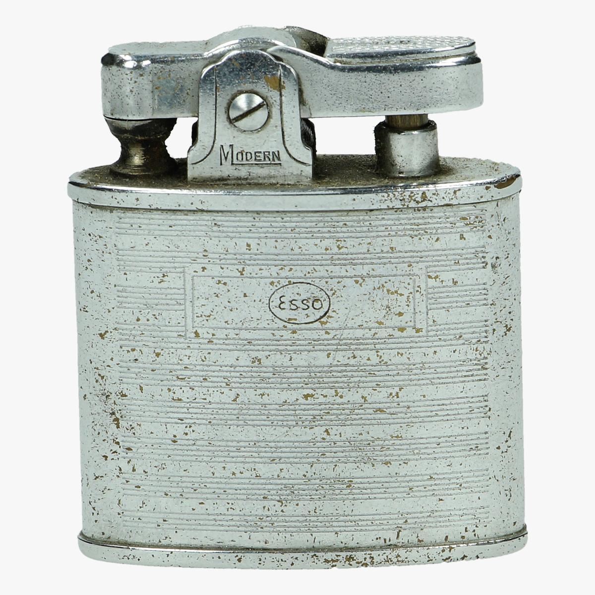 Afbeeldingen van oude aanstekker Esso H.M.C