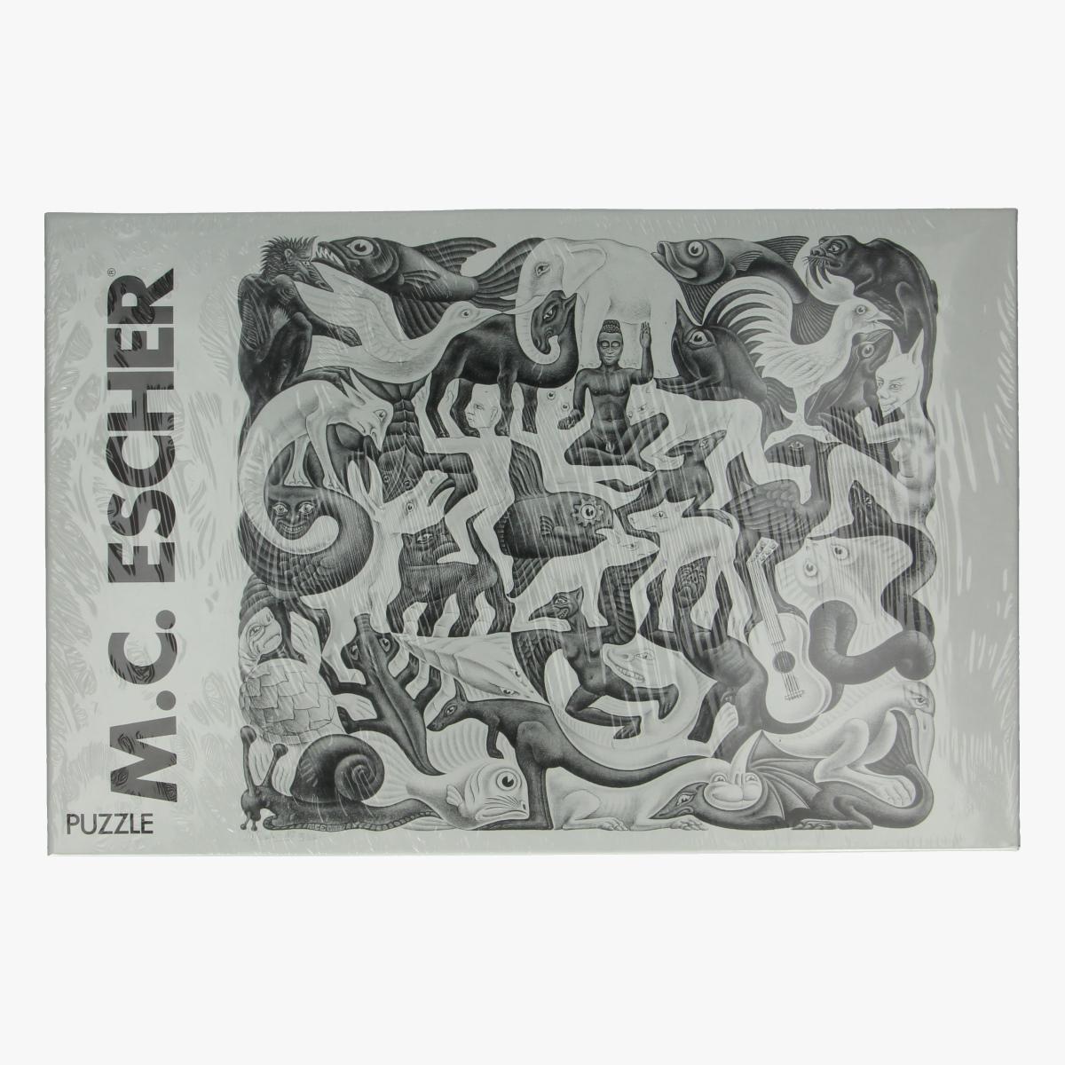 Afbeeldingen van Puzzel M.C. Escher Mosaic II