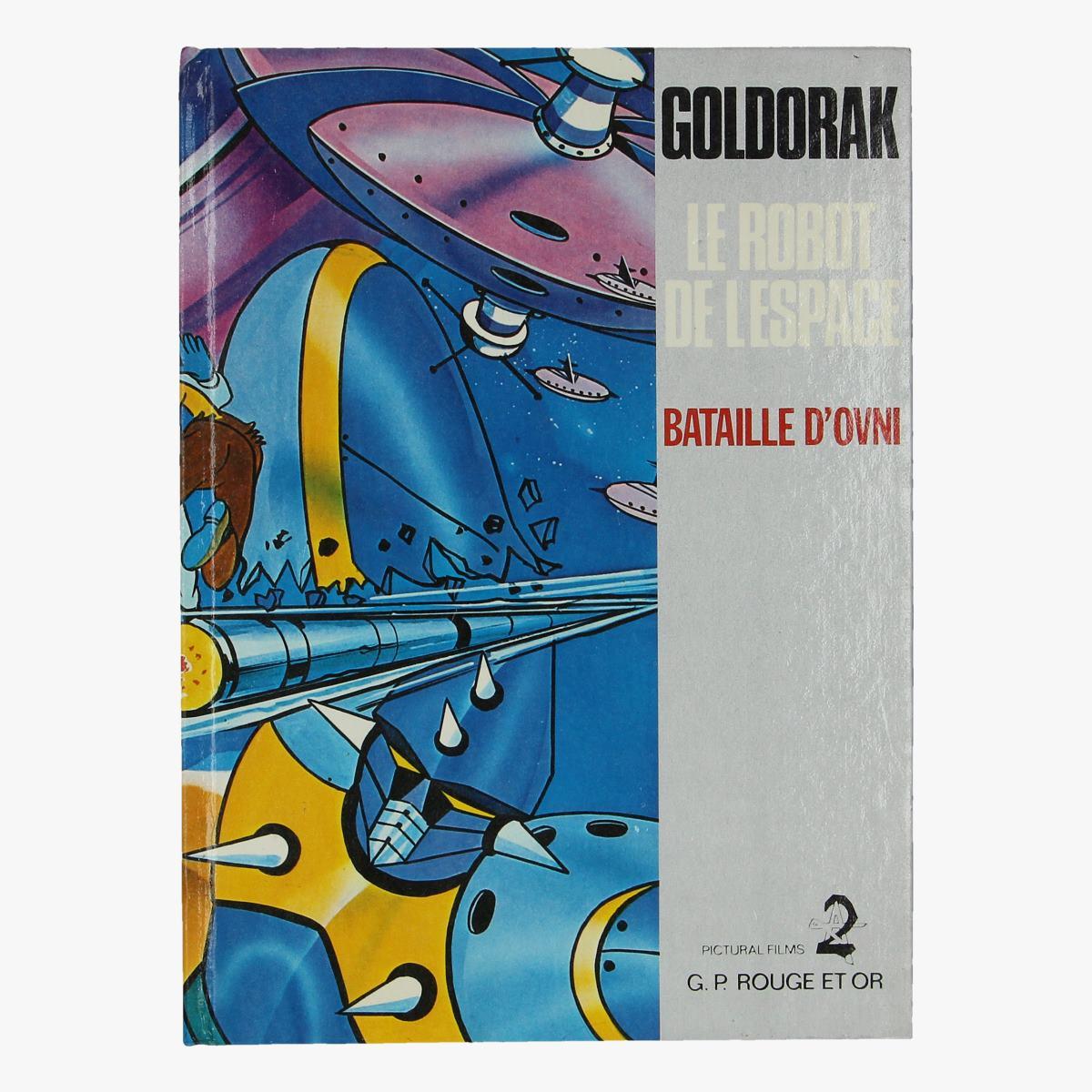 Afbeeldingen van golddrak le robot de l'espace 1978