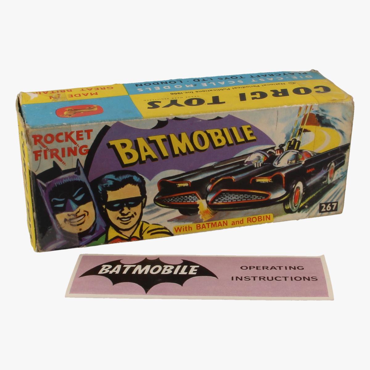 Afbeeldingen van Corgi Toys. Batmobile Nr. 267