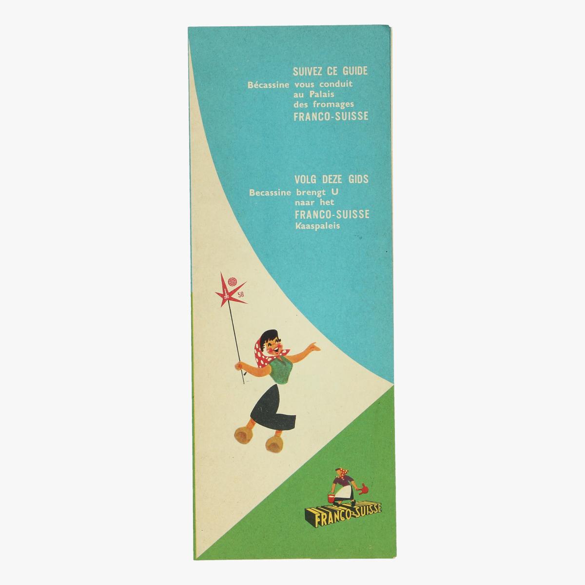 Afbeeldingen van expo 58 volg deze gids becassine brengt u naar het franco suisse kaaspaleis