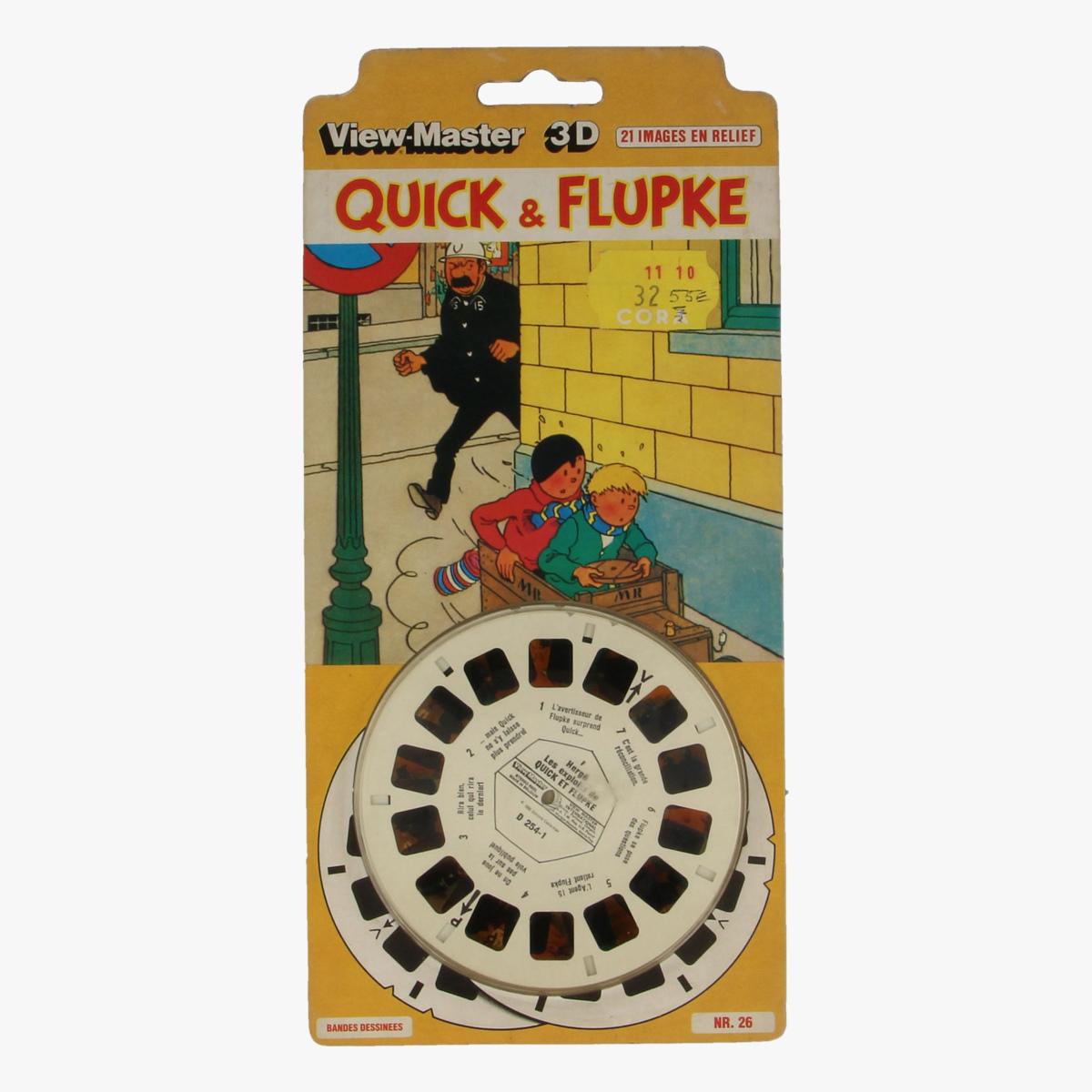 Afbeeldingen van View-master Quick & Flupke Bandes Dessinees nr 26