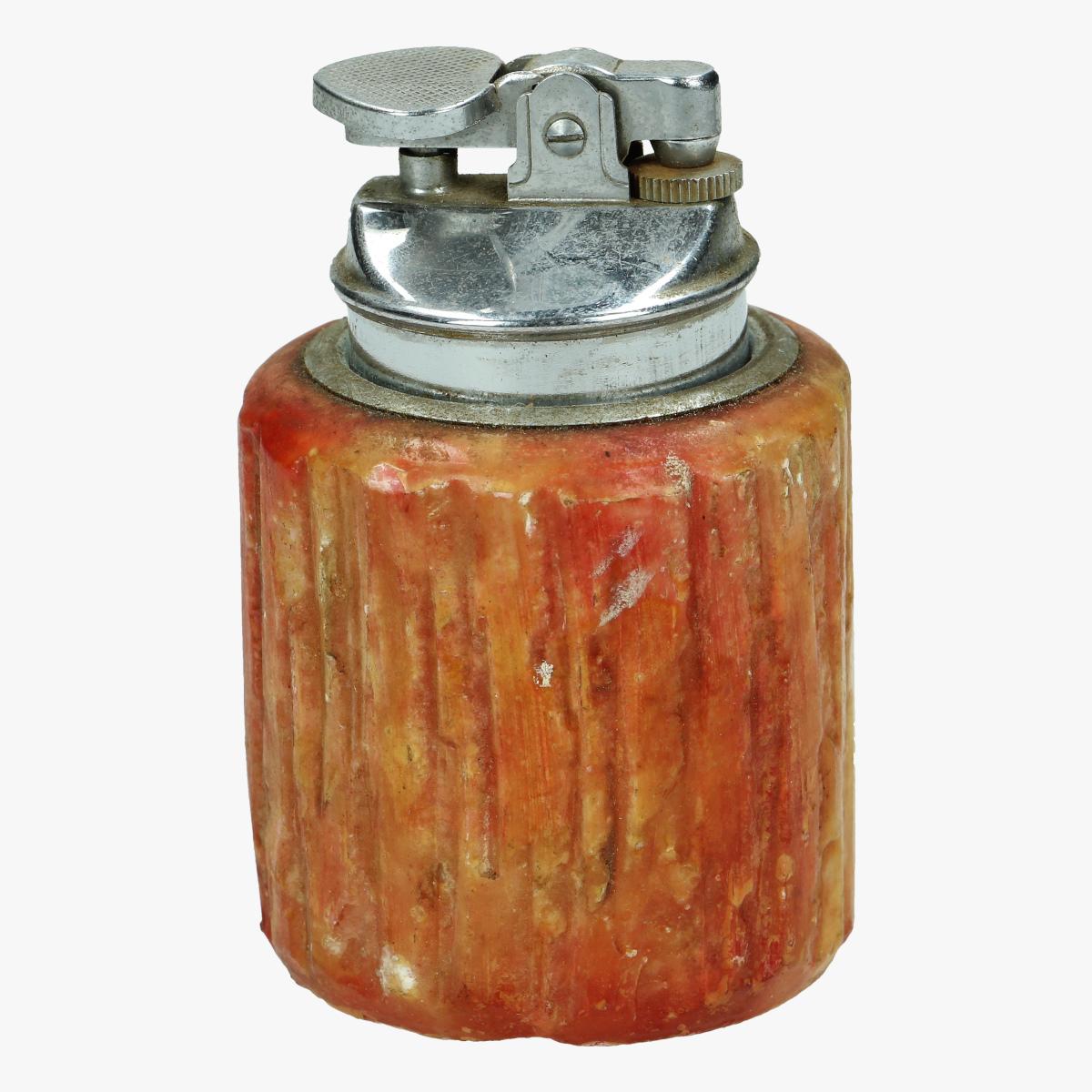 Afbeeldingen van oude aansteker potje