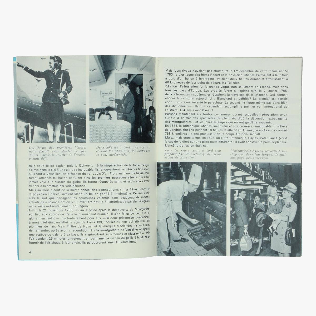 Afbeeldingen van sabena magazine n° 51 december 1964