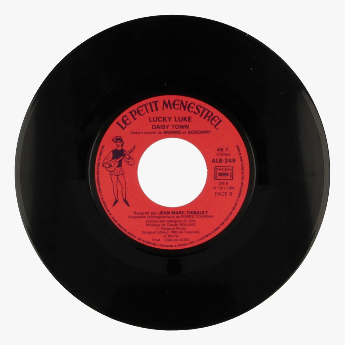Afbeeldingen van Lucky Luke Daisy Town 45 toeren LP
