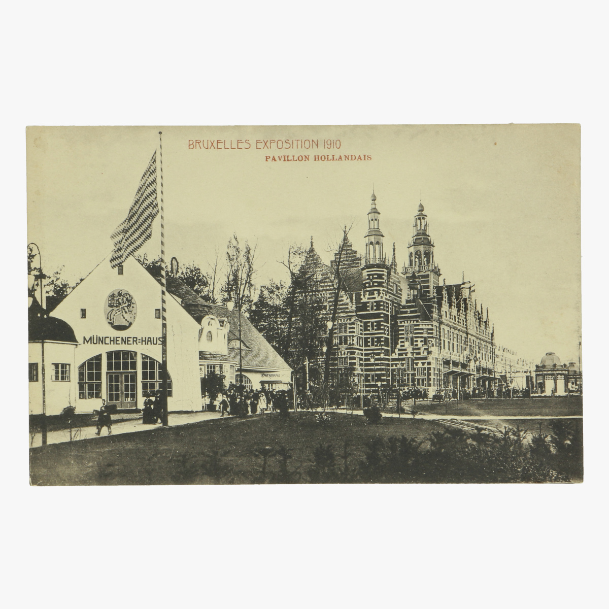 Afbeeldingen van postkaart bruxelles exposition 1910 pavillon hollandais