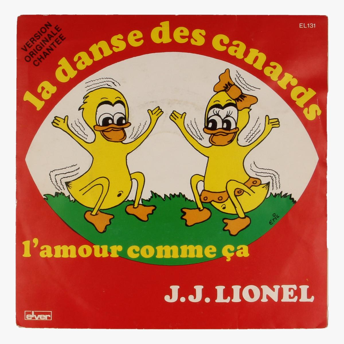 Afbeeldingen van J.J. Lionel - La dans des canards, L'amour comme ca LP 45toeren