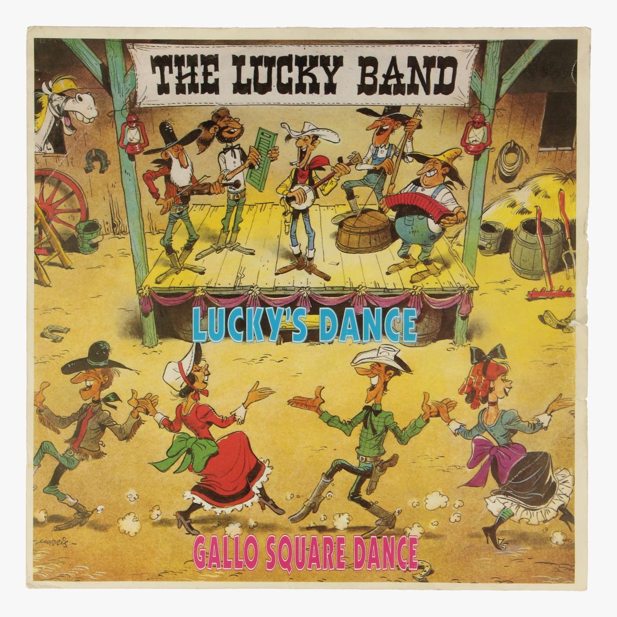 Afbeeldingen van Klein LP The Lucky Band.