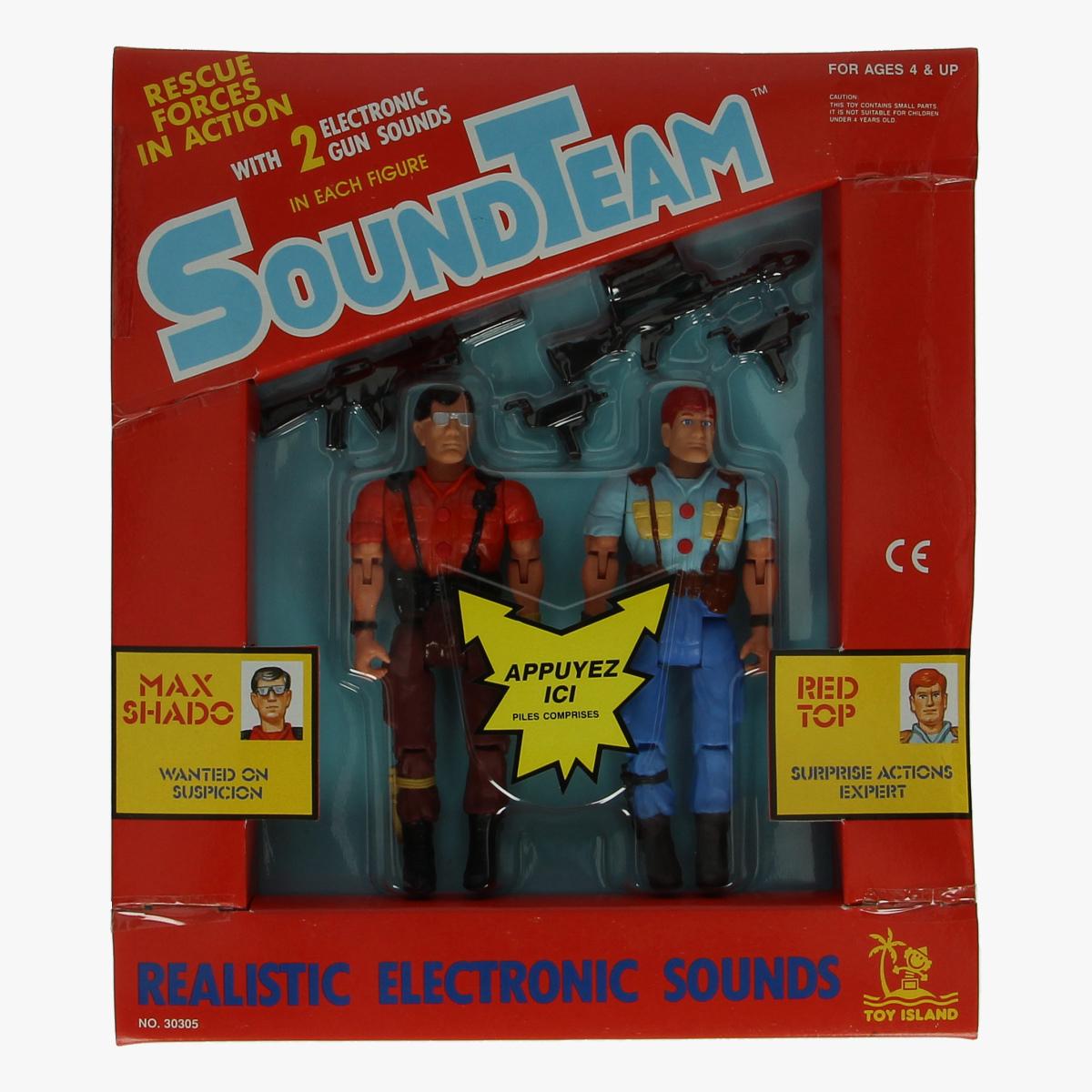 Afbeeldingen van Soundteam. Speelgoed. Rescue forces in action zeer zeldzaam