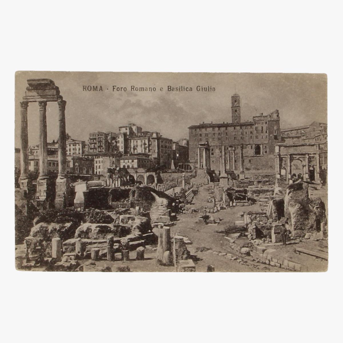 Afbeeldingen van Postkaart Roma - Foro Romano e Basilica Giulia