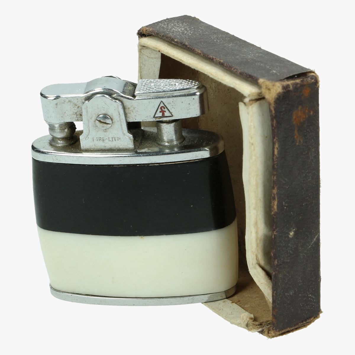 Afbeeldingen van oude aansteker fire lite  in doosje made in japan
