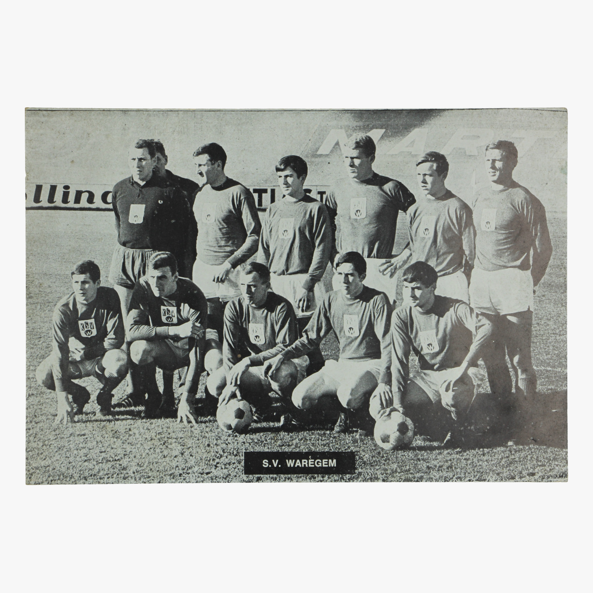 Afbeeldingen van foto voetbal s.v. waregem