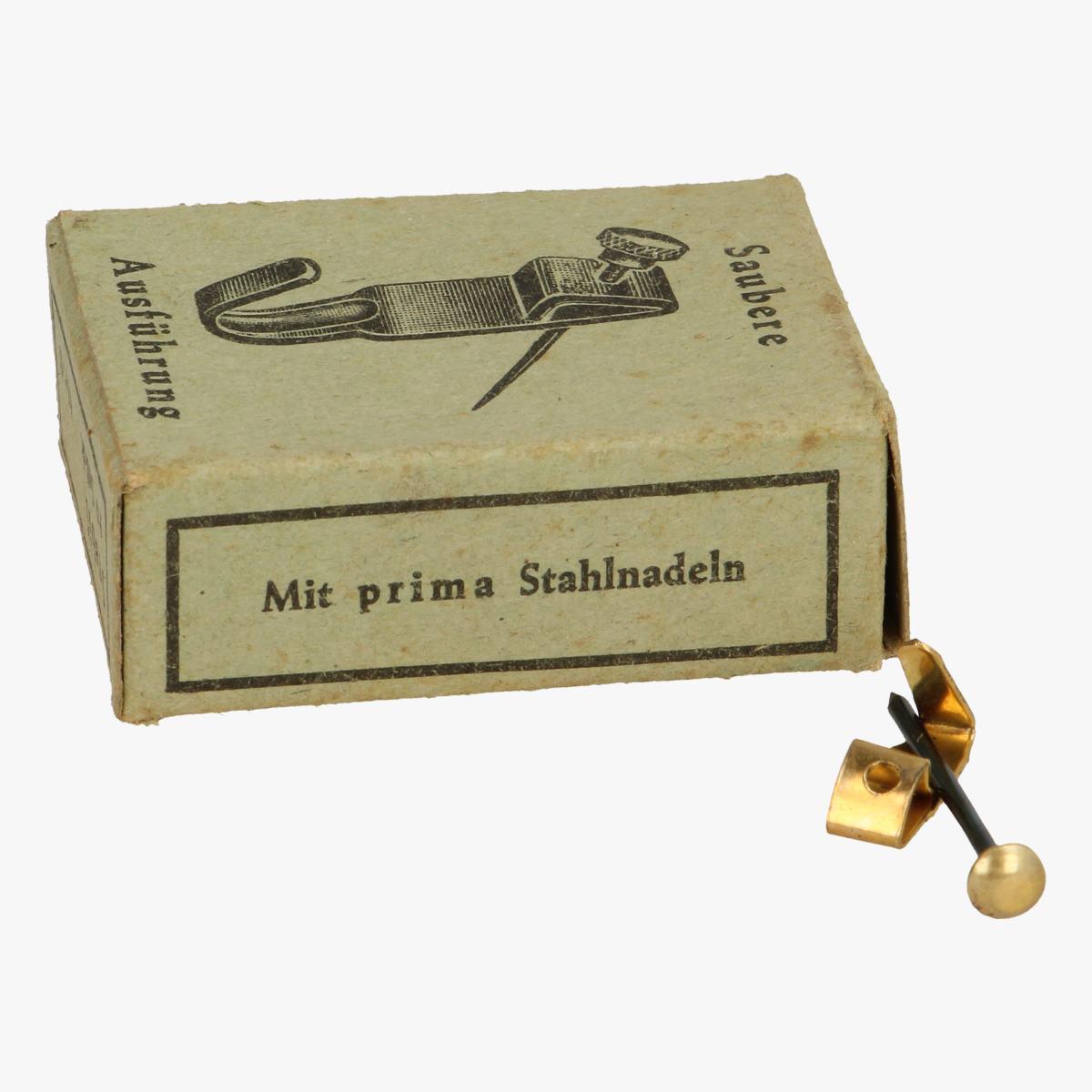 Afbeeldingen van doosje stabik wandhaken 10 st nr. 0 mit prima stahlnadeln