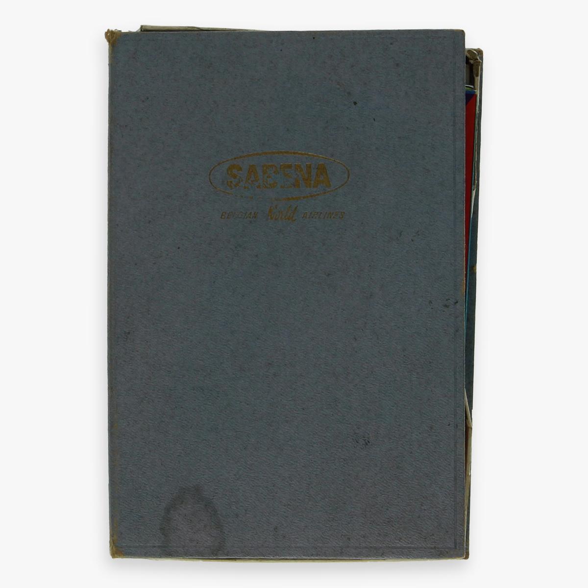 Afbeeldingen van sabena brochures boxed