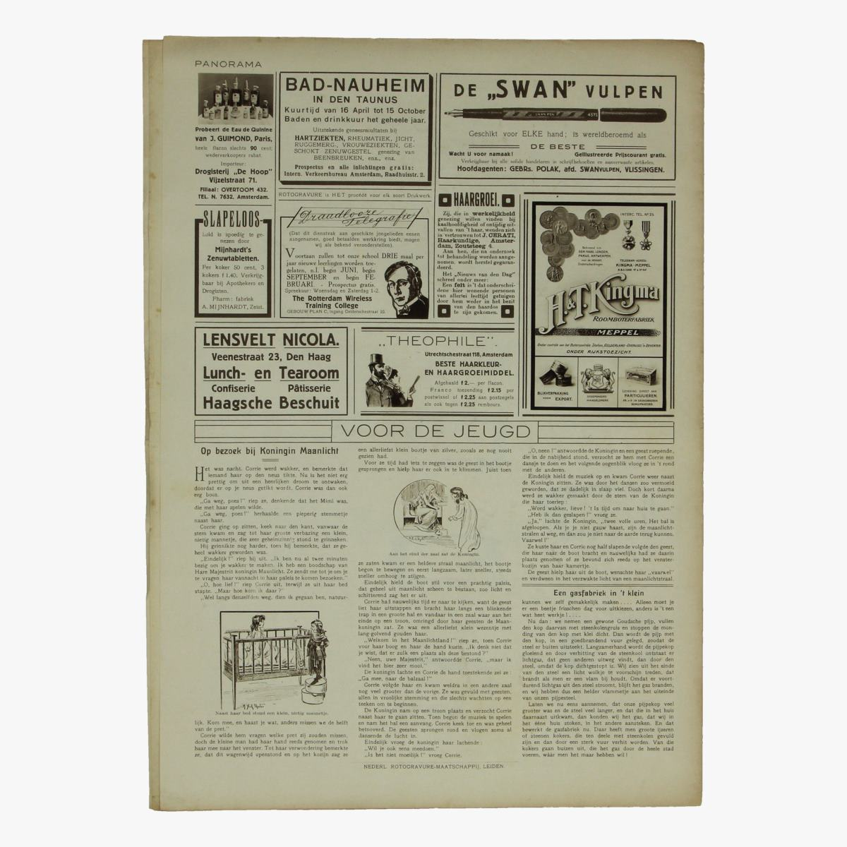 Afbeeldingen van oude weekblad panorama N°47 10 juni 1915