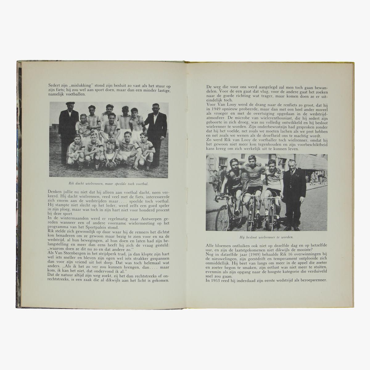 Afbeeldingen van wielrennen boek Rik Van Looy door Fred De Bruyne