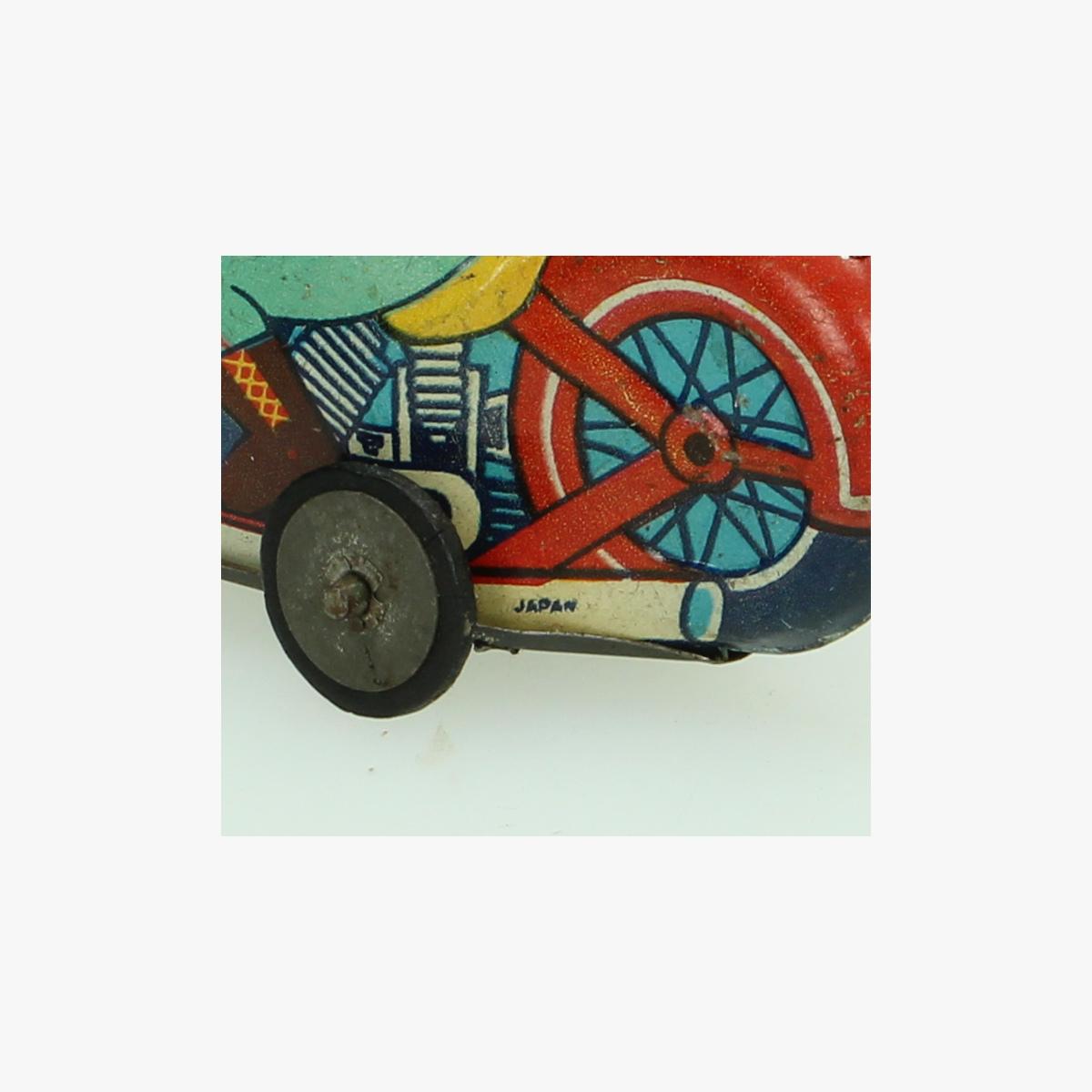 Afbeeldingen van indian blikken motor jaren 50 made in Japan alps trade mark