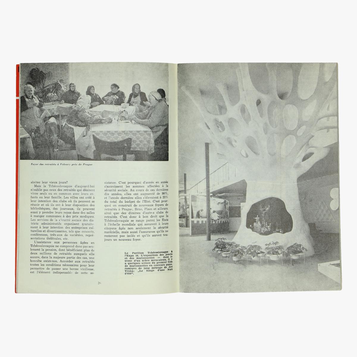 Afbeeldingen van expo 58 les journées nationales tchécoslovaques a l' expo