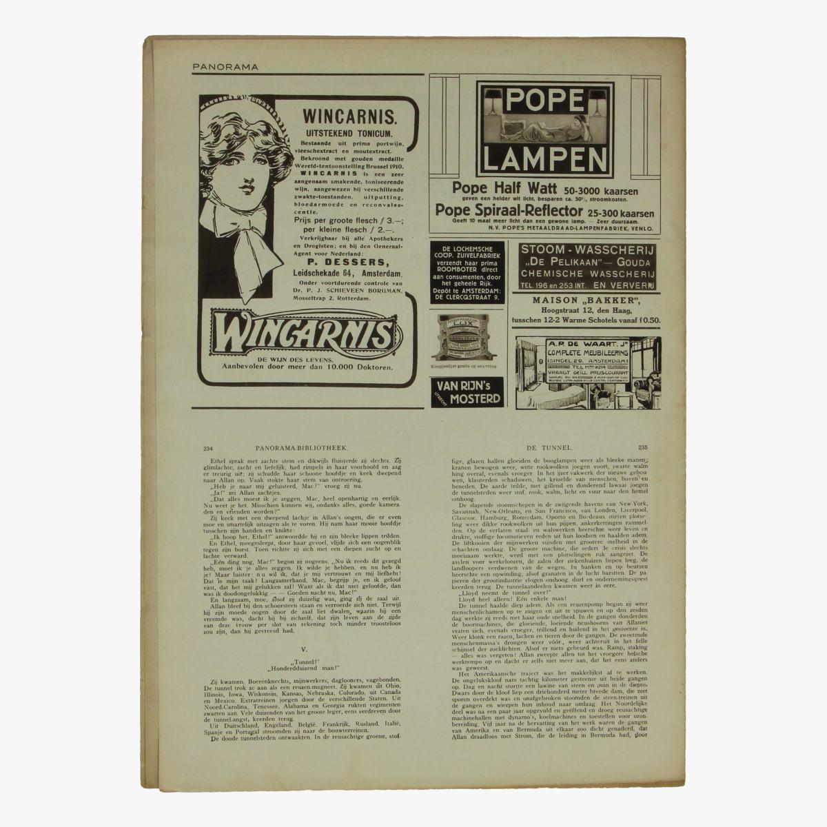 Afbeeldingen van oude weekblad panorama N°46  7 juni 1915.