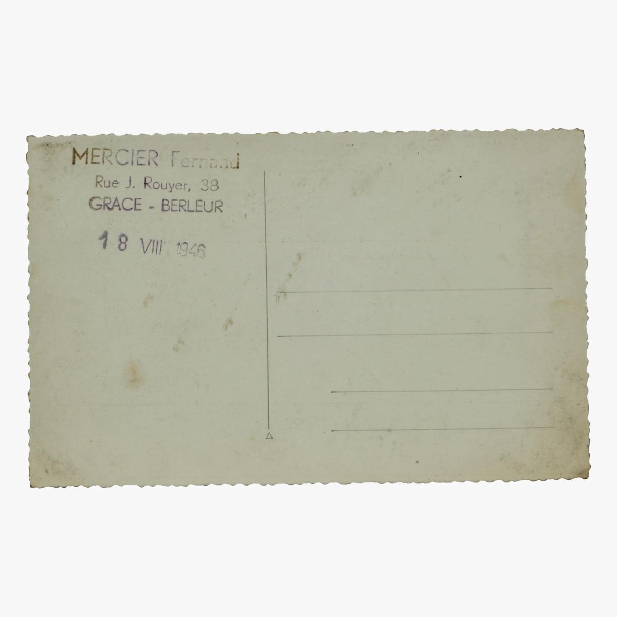 Afbeeldingen van oude postkaart voetbal 1946