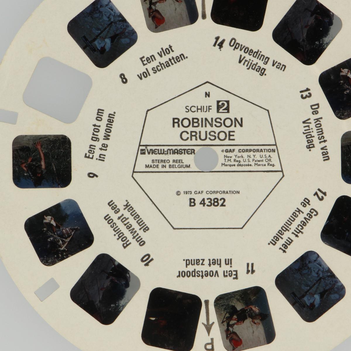 Afbeeldingen van View-master Robinson Crusoe B4382