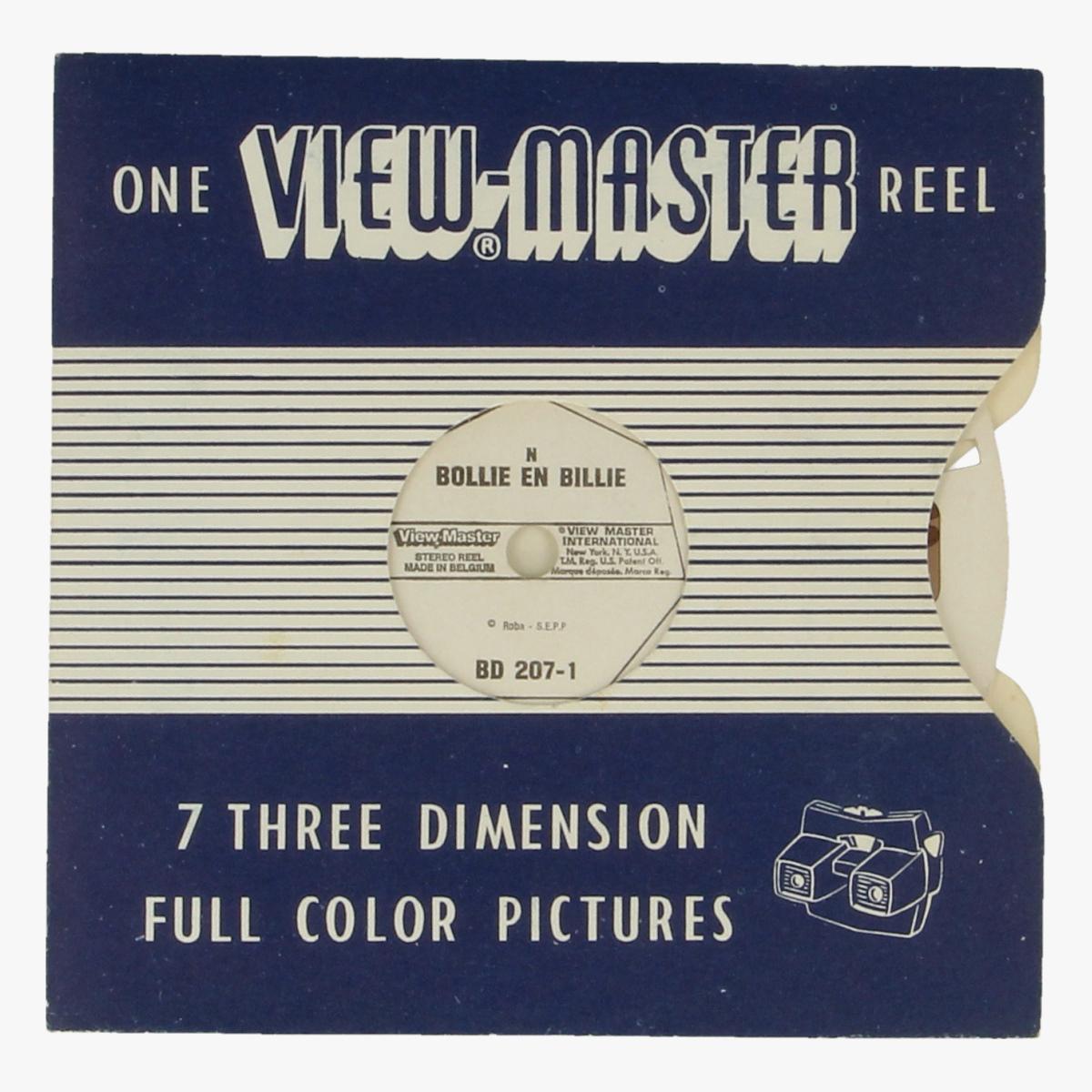 Afbeeldingen van View-master Bollie en Billie. Nr. BD 207-1