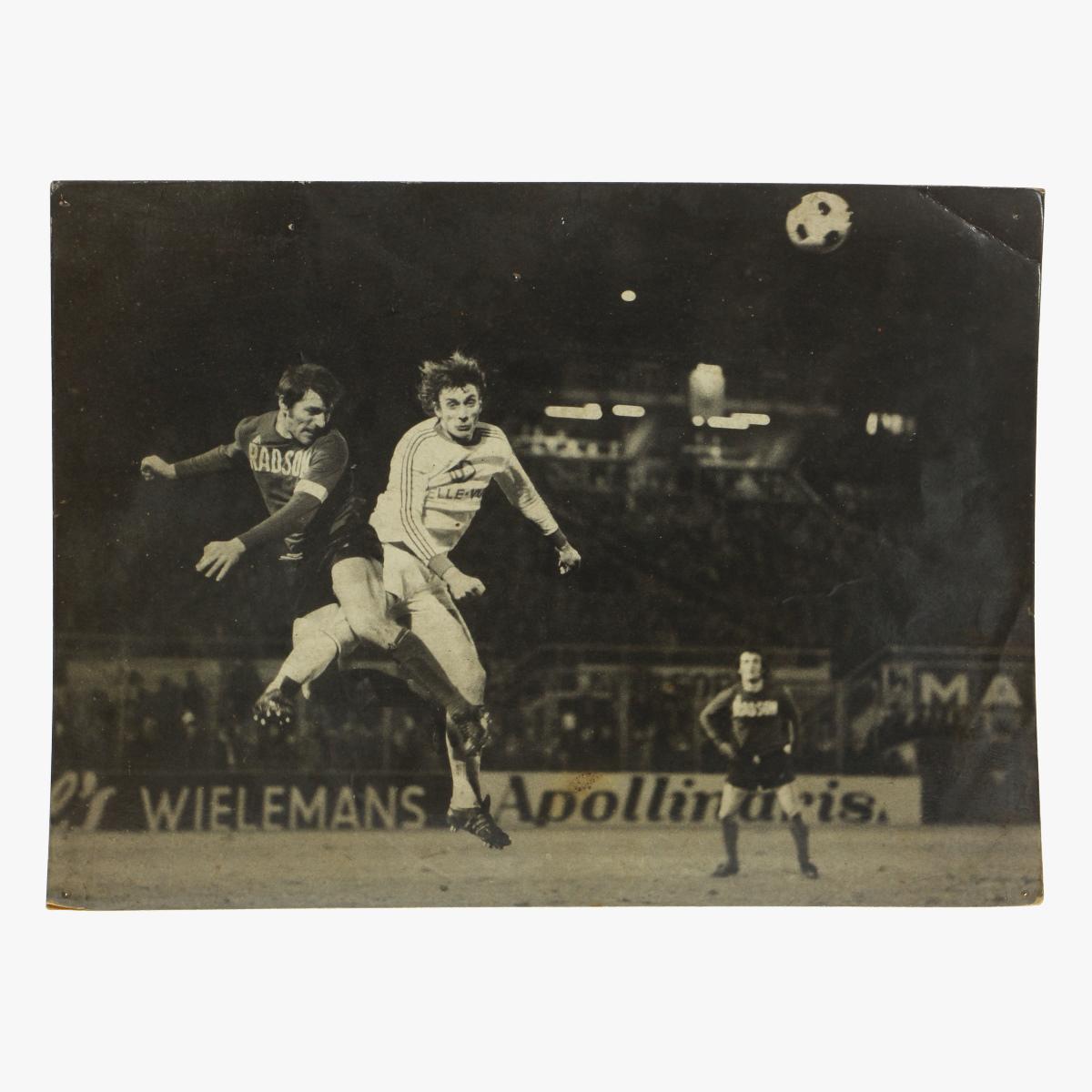 Afbeeldingen van originele foto voetbal anderlecht - beringen 1975