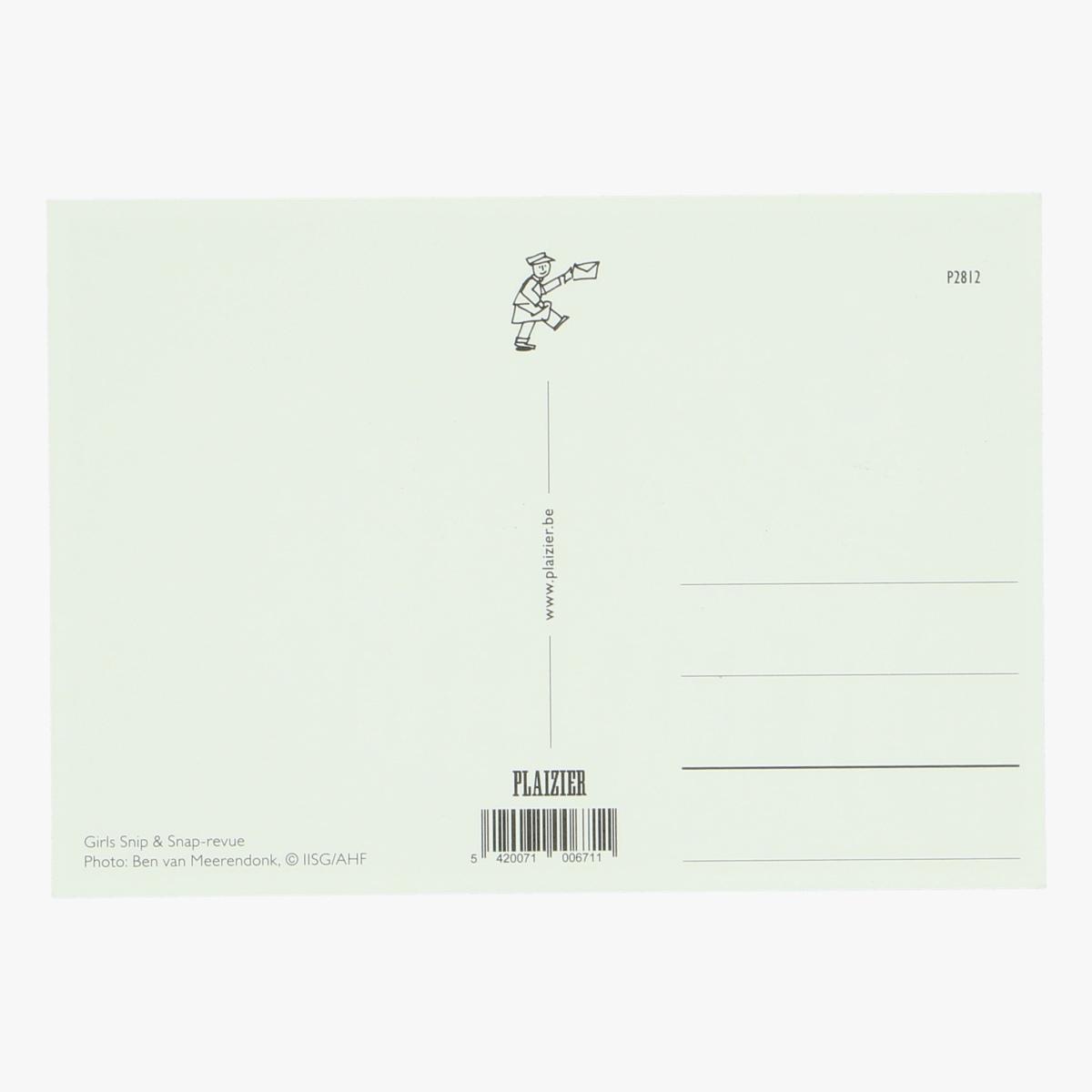 Afbeeldingen van postkaart girl snip & snap - revue repro