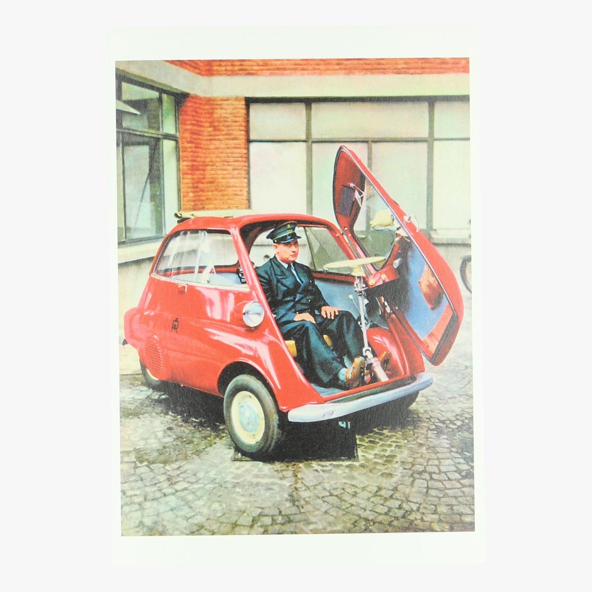 Afbeeldingen van postkaart modernisering van de belgische post 1958 repro