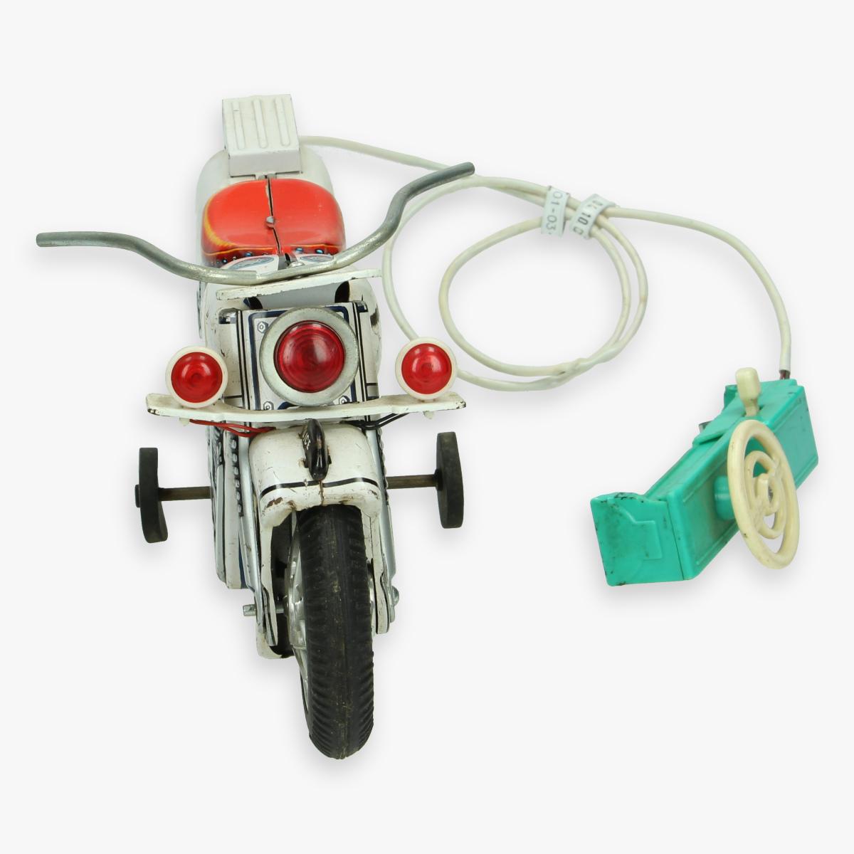Afbeeldingen van blikken motor modern toys made in Japan 30 cm (mist stukje van de afstandsbediening)
