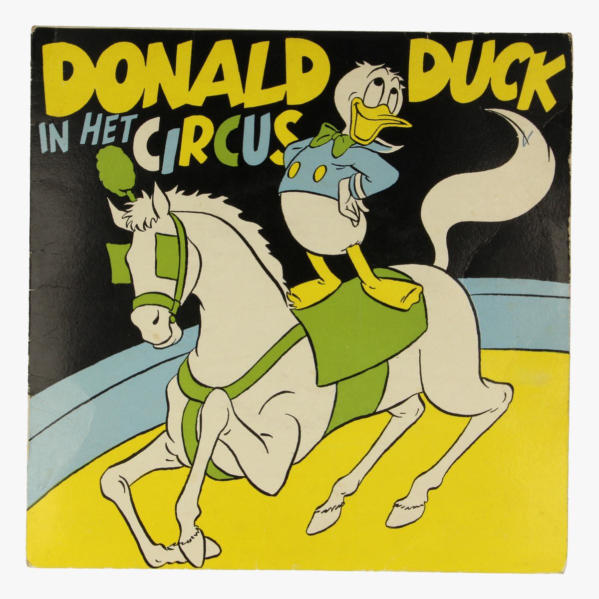 Afbeeldingen van Klein LP Donald Duck in het Circus