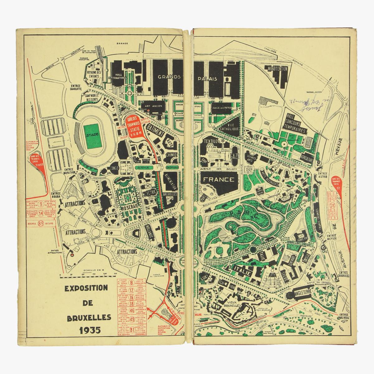 Afbeeldingen van expo 1935 les tramways bruxllois