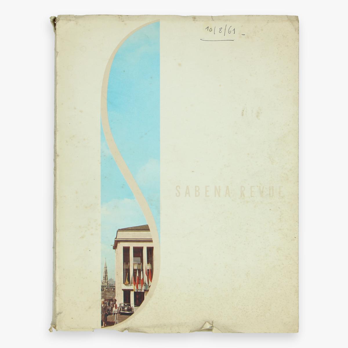 Afbeeldingen van sabena revue 1960 magazine
