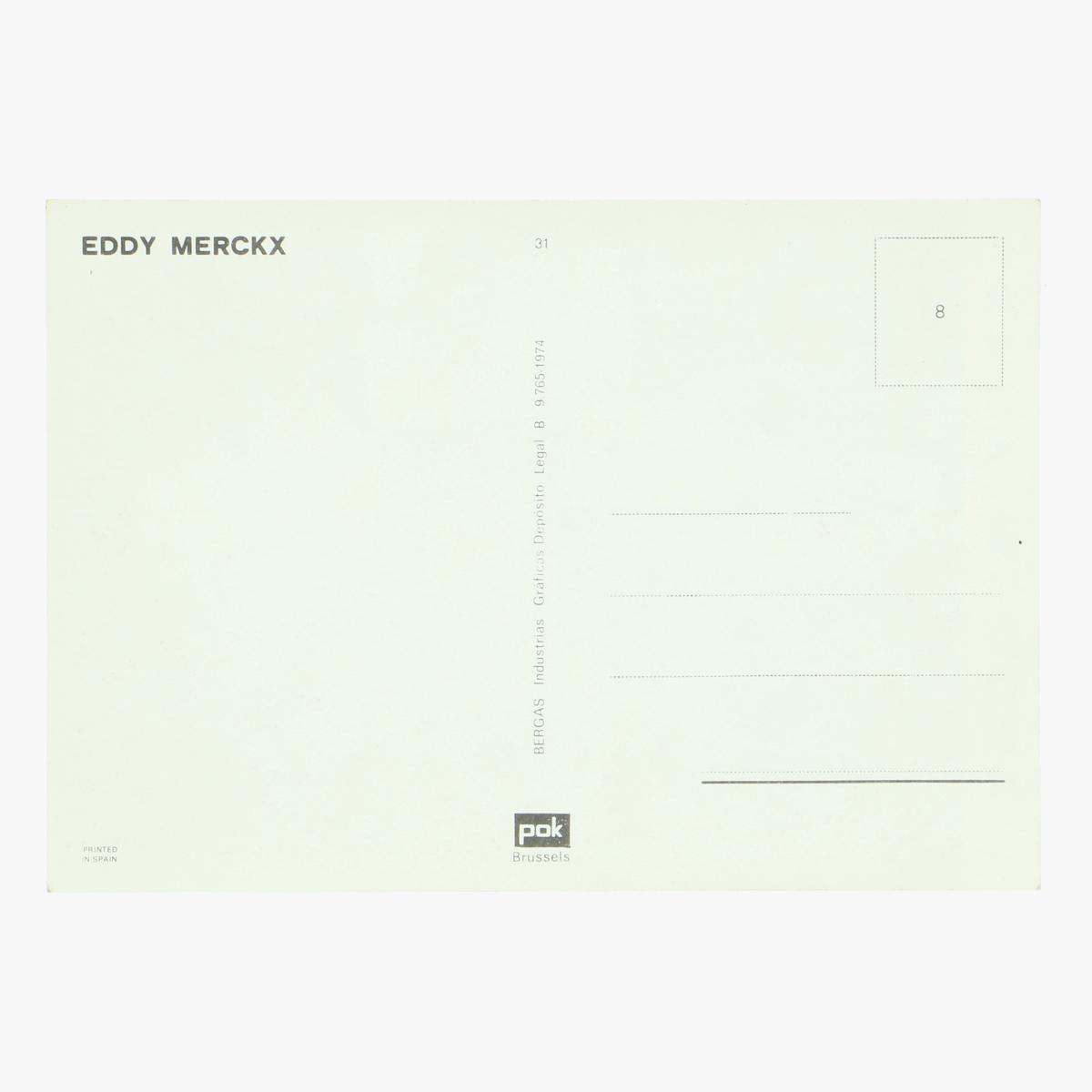 Afbeeldingen van oude postkaart eddy merckx