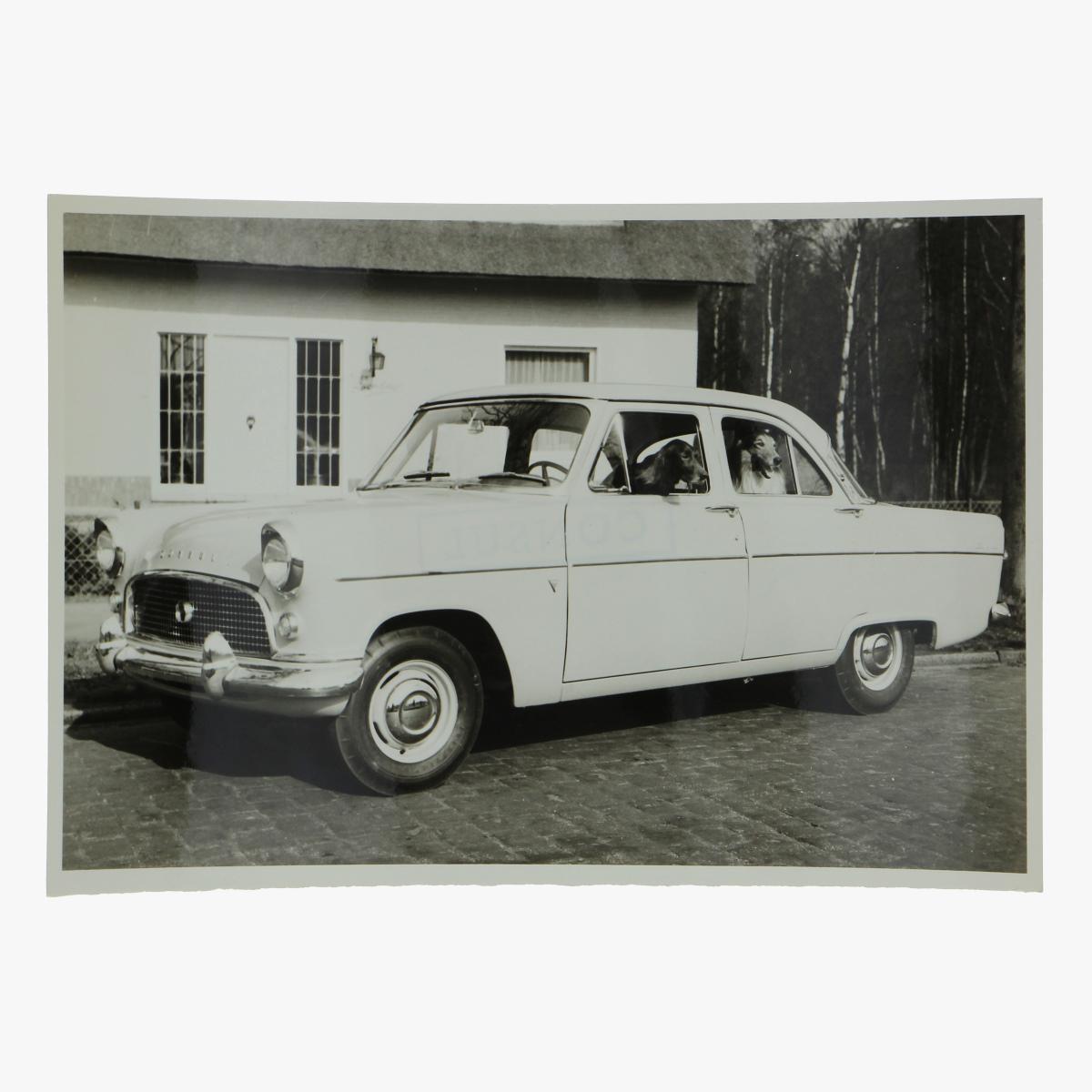 Afbeeldingen van zwart-wit foto consul