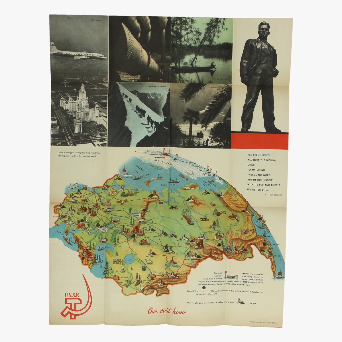 Afbeeldingen van expo 58 flyer u.r.r.s bruxelles