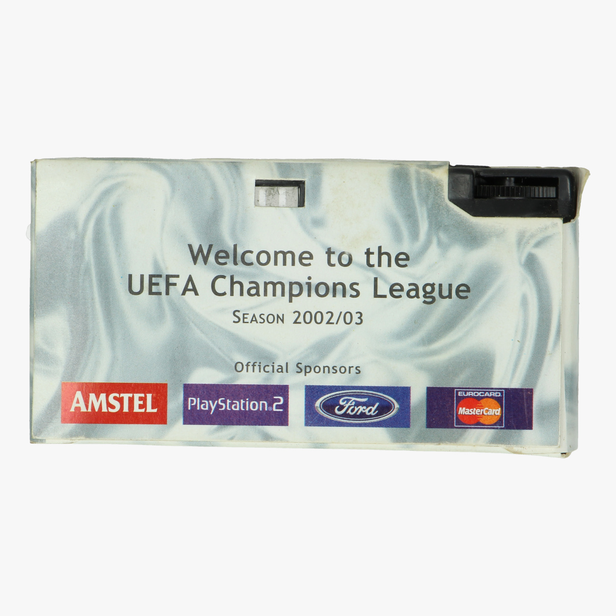 Afbeeldingen van wegwerp camerea uefa champions league. season 2002/03 voetbal
