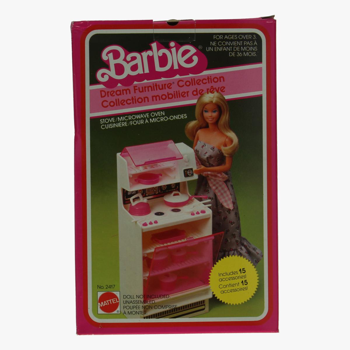 Afbeeldingen van Barbie. Speelgoed keuken. Mattel