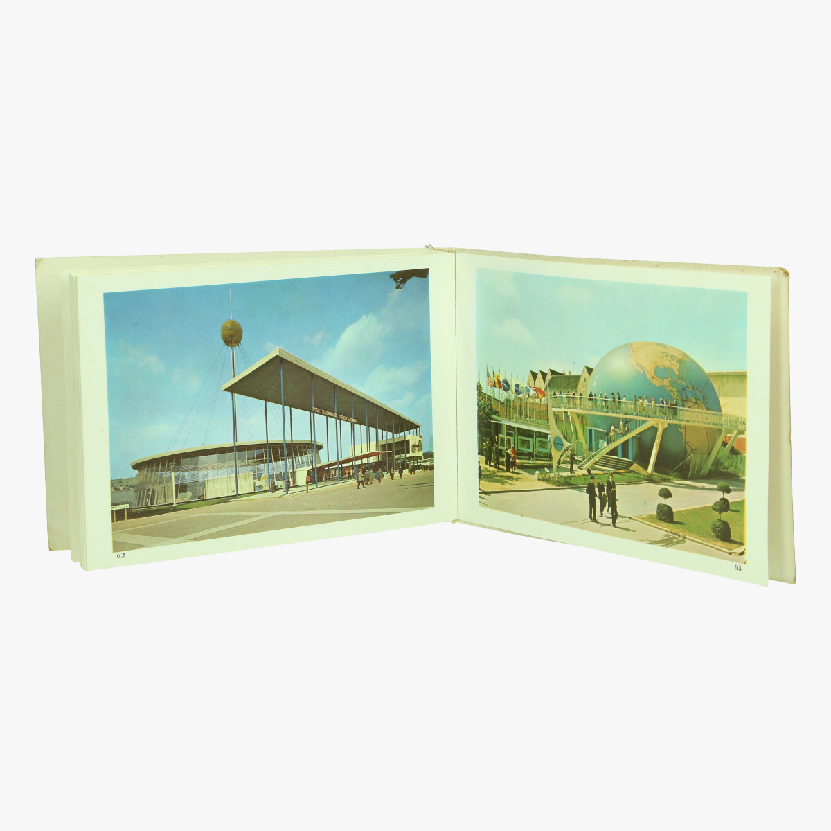 Afbeeldingen van expo 58 album-souvenir