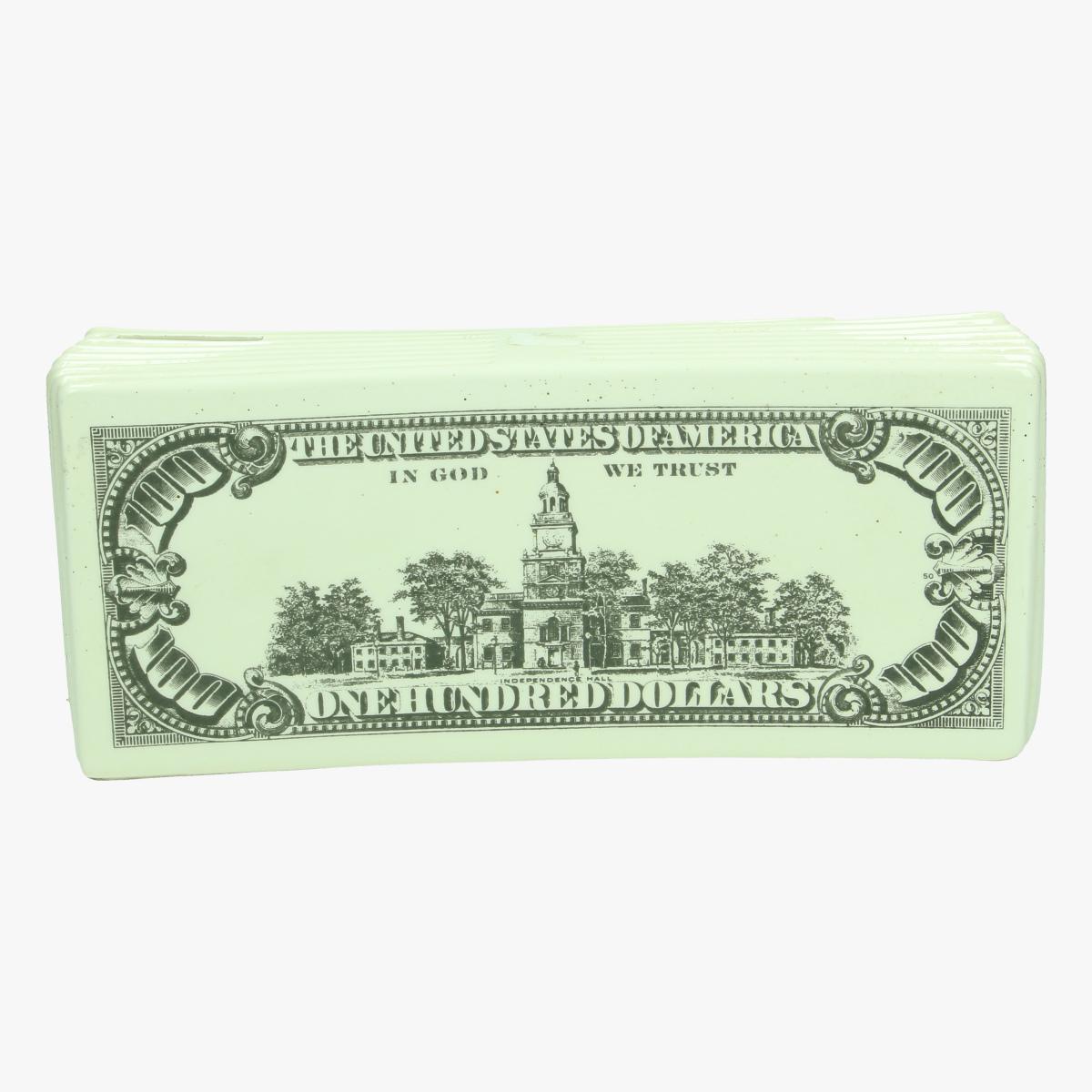 Afbeeldingen van spaarpot porselein 100 dollar